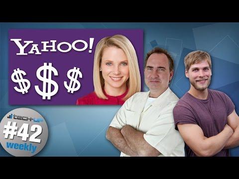Yahoo-CEO: 55 Mio.$ Abfindung | DNA als Datenspeicher | Whatsapp für PC & Mac - Tech-up Weekly #42