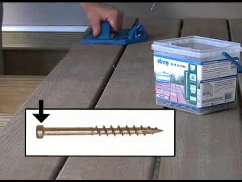 Deck Jig™   Concealed Decking Made Easy!