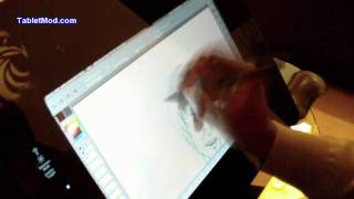 EZ DIYCintiq Drawing Practise - Bruce Lee