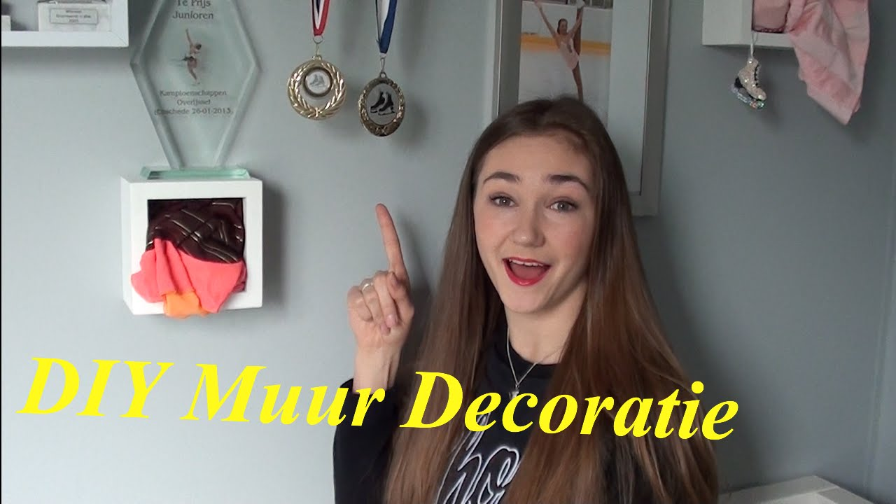Diy muur decoratie youtube
