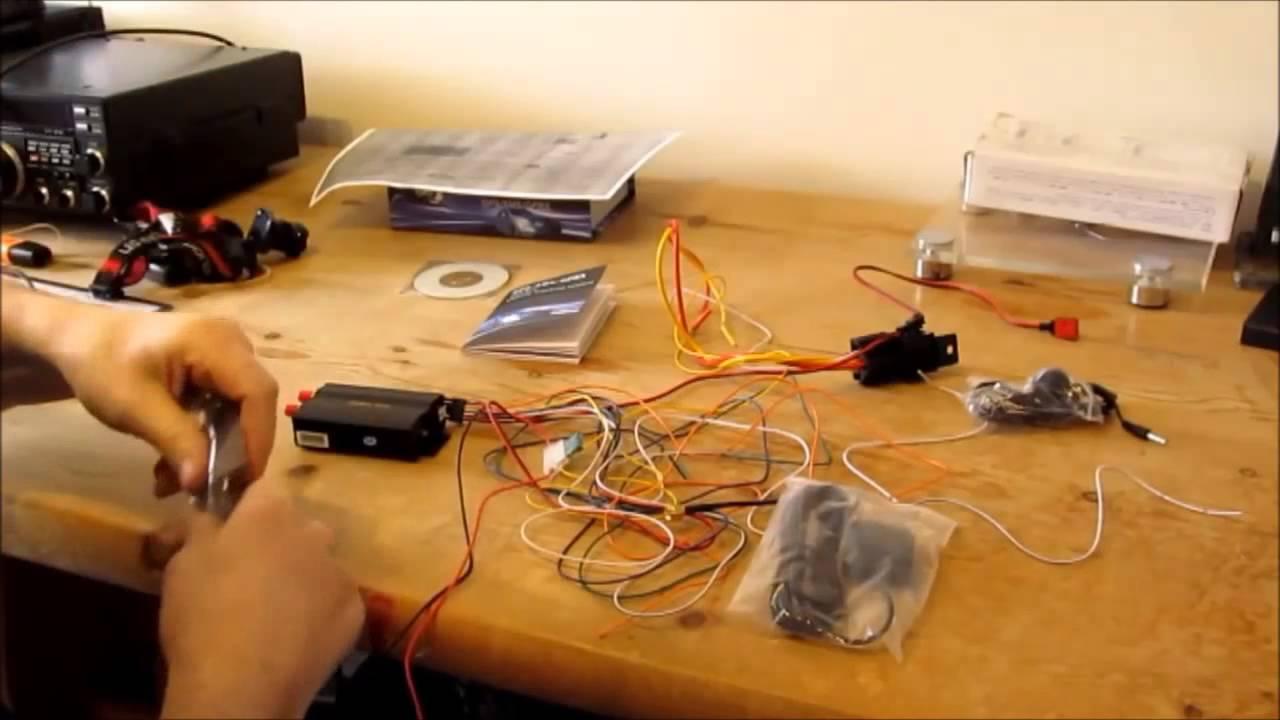 Car GPS Tracker  TK103  YouTube