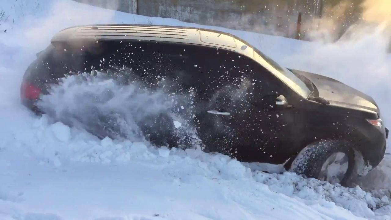 Саньенг рекстон по снегу видео, шлюха дала каждому