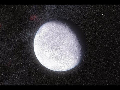 Standing On Eris - The Most Massive Dwarf Planet