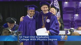 14-Year-Old Earns College Degree In Physics