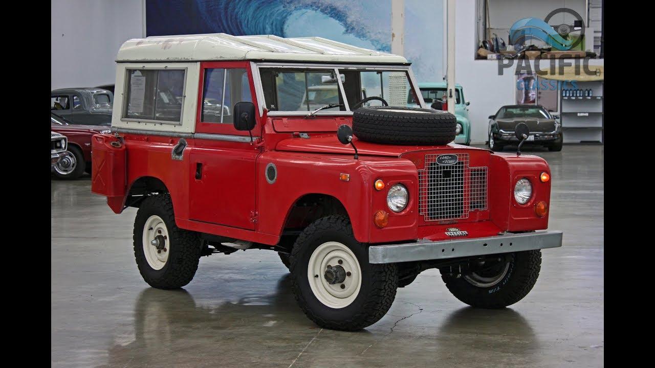 1969 Land Rover Series Iia 88