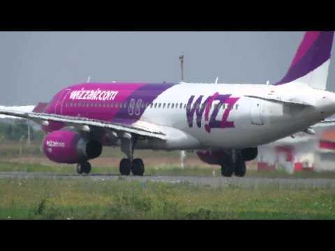 "WIZZ AIR A320-232 takeoff to Malmo at Belgrade Airport ""Nikola Tesla"" FULL HD"