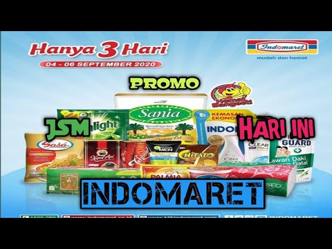 Promo Jsm Indomaret Terbaru Hari Ini 4 6 September 2020 Youtube