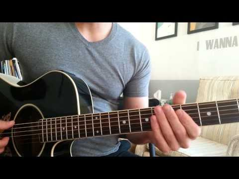 Justin Beiber - Recovery (Guitar Chords & Lesson) By Shawn Parrotte