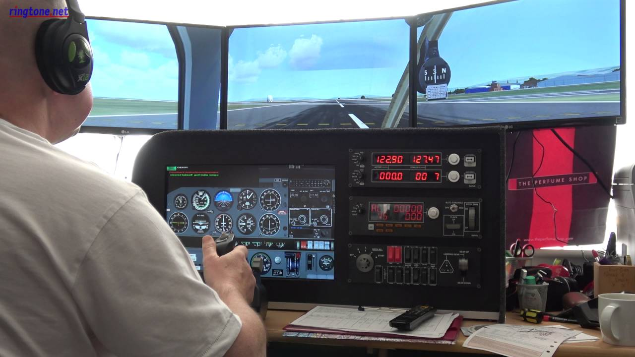Home FSX Flight SIM Panel