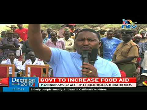 Government says it will increase food aid to needy areas