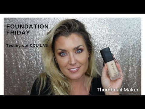 Foundation Friday testing out the brand NEW foundation at Sally's Beauty COLLAB | COL-LAB affordable