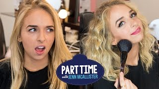 JennXPenn Gives Makeovers | Part Time W/Jenn McAllister