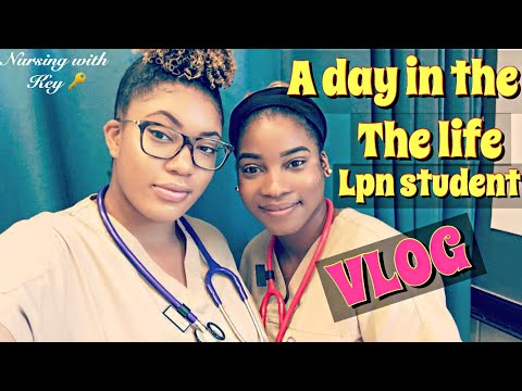 A day in the life of a lpn student|What practical nursing school is like