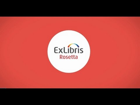 The New Ex Libris Rosetta