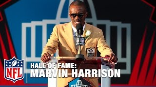 Marvin Harrison Hall of Fame Speech | 2016 Pro Football Hall of Fame | NFL