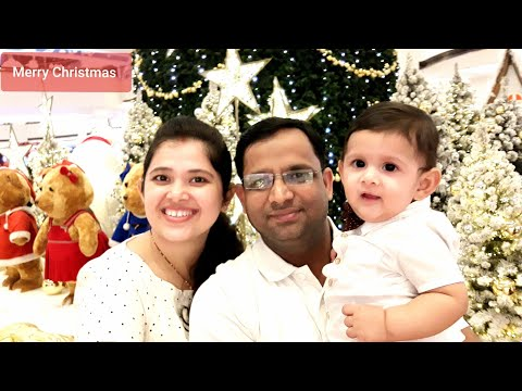Christmas day celebration at Mall Of Emirates Dubai || Dec 25, 2019 || Living room Decorations