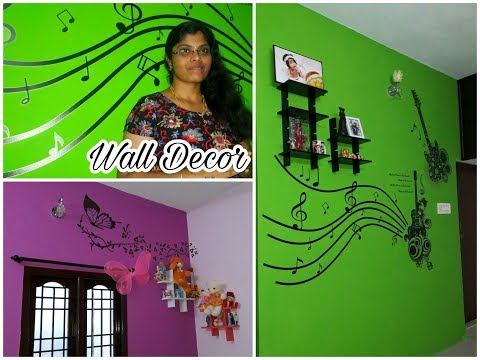 2 Easy wall decor ideas | Home decoration & organization in a budget