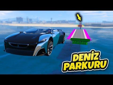 Konsept Arabalar Deniz Parkurundan Geçiyor - GTA 5