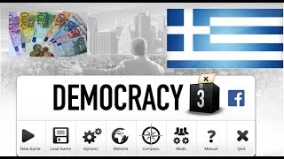 How to fix Greek Economy! Let's play Democracy 3: Greece