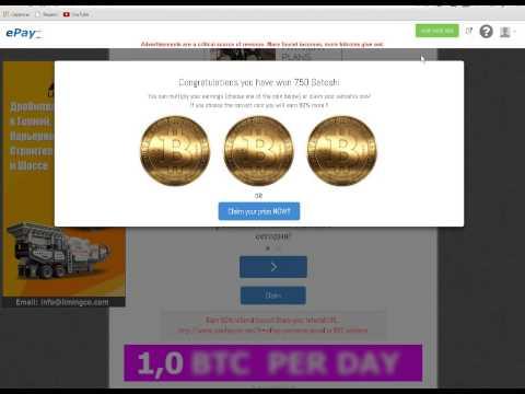 Как заработать биткоины Bitcoin без вложений. Кран бесконечного заработка сатоши