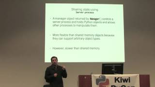 Medhat Gayed: Concurrent Programming using multiprocessing