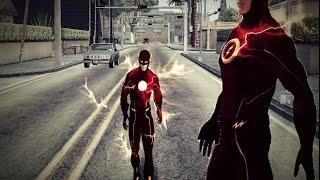 GTA SA   The Flash from CW's TV Series   SKINS