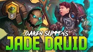 Jade Druid at Rank 5 | Hearthstone