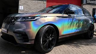 The FIRST ever Velar in the UK to be Wrapped