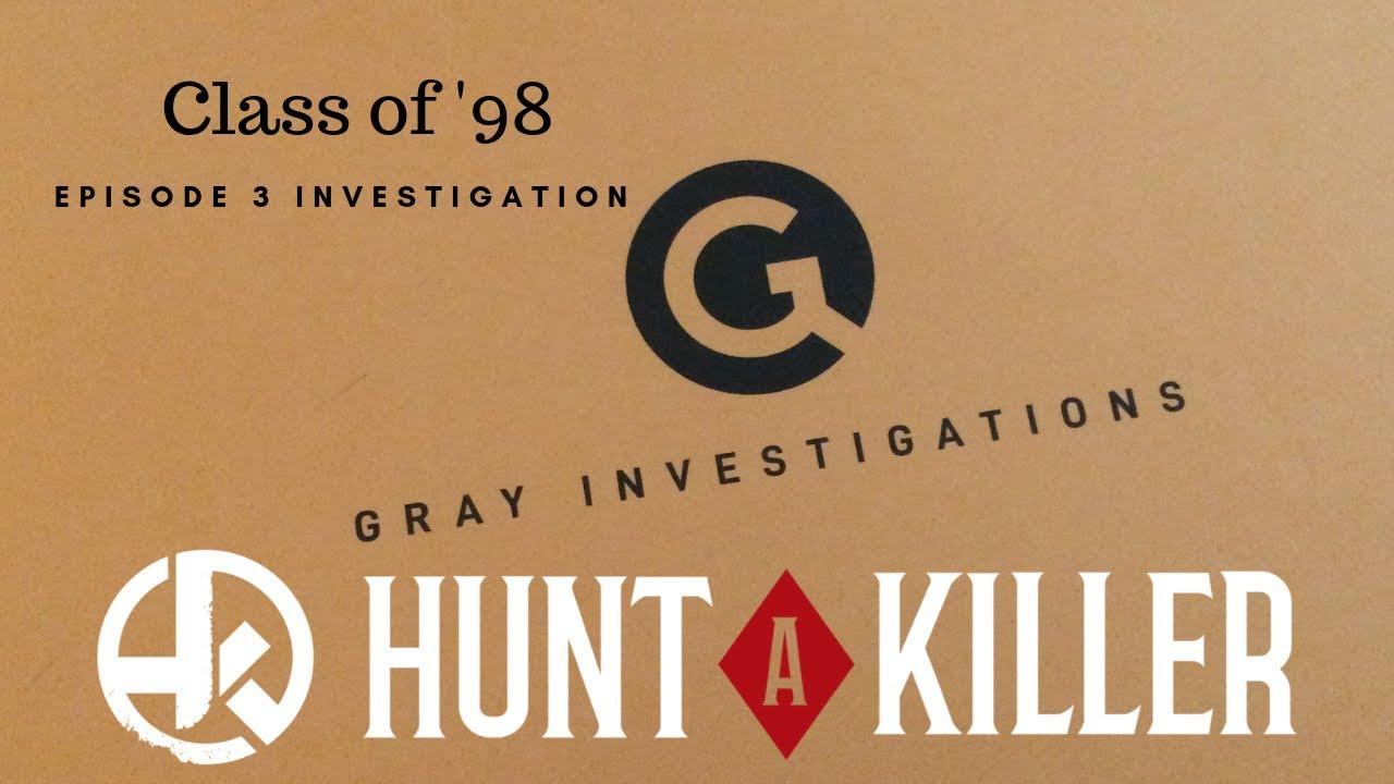 SPOILER ALERT! HUNT A KILLER CLASS OF '98 EPISODE 3 INVESTIGATION!