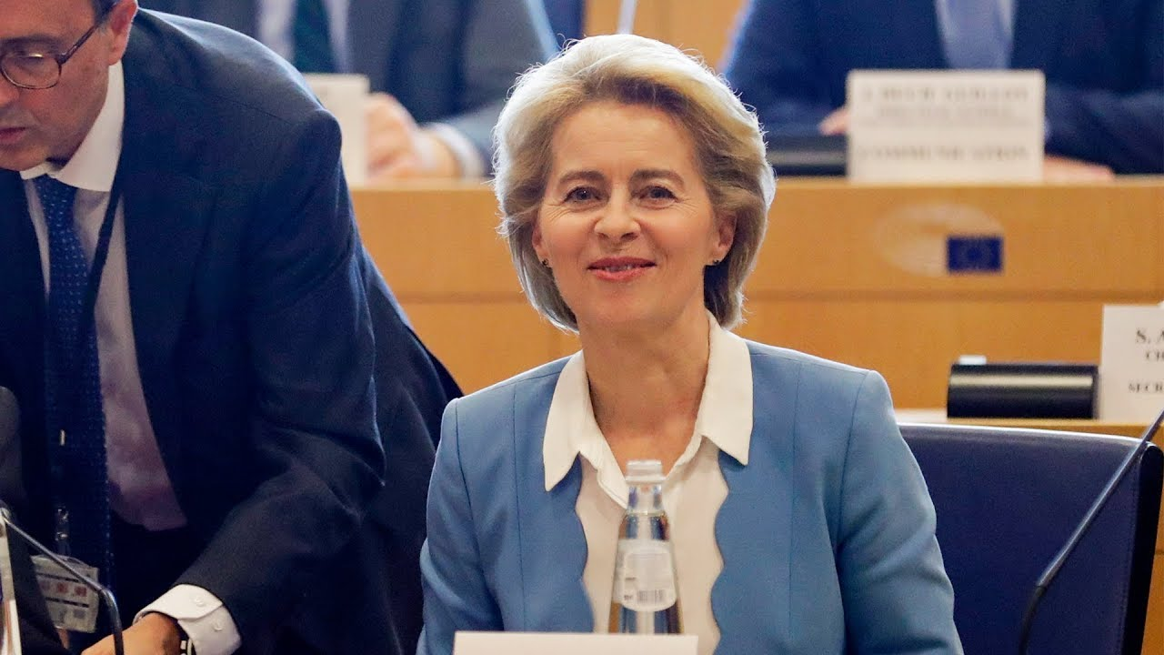 Ursula von der Leyen outlines plans for Europe in first press conference -  YouTube
