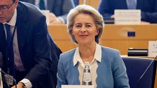 Ursula von der Leyen outlines plans for Europe in first press conference