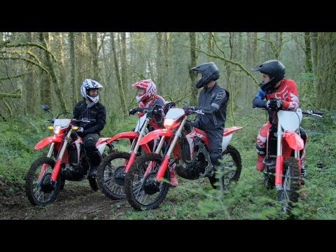 Introducing the 2019 CRF Performance Line - Times Change