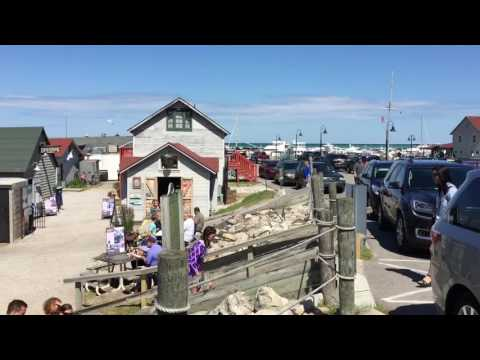 A Look At The Historic Fishtown In Leland, Michigan