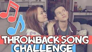THROWBACK SONG CHALLENGE W/ MAMRIE HART