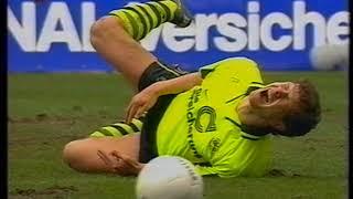 Borussia Dortmund - Borussia Mönchengladbach Saison 96/97 (24. Spieltag)