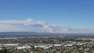 Los Angels area fires. Thousand Oaks, Griffith Park and Simi Valley