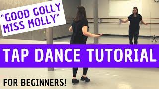 BEGINNER TAP DANCE TUTORIAL |