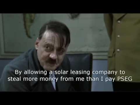 Hitler finds out he was ripped off by a solar leasing company