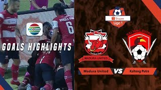 Madura United (2) vs (1) Kalteng Putra - Goals Highlights | Shopee Liga 1