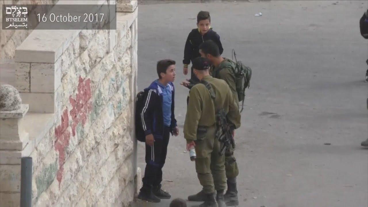 Download ONG denuncia assédio de soldados israelenses a estudantes palestinos