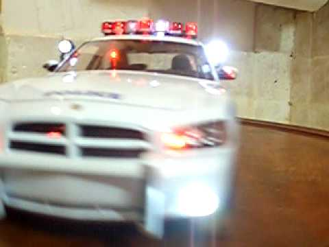 1 18 Nypd Dodge Charger Police Nypd Unit Lights And Siren