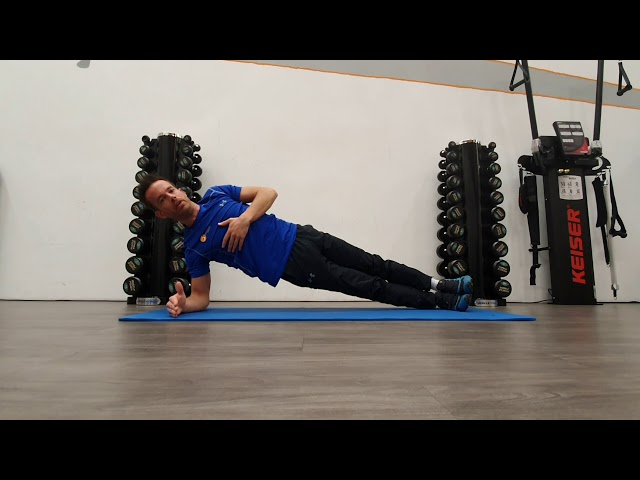 Plank to sideplank