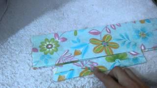 Faixa de tecido para cabelo estilo turbante por Artesanato e Costura da Mi