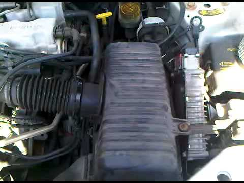 dodge stratus air filter replacement pt youtube