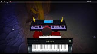 Spooky Scary Skeletons by: Andrew Gold on a ROBLOX piano. [Revamped]