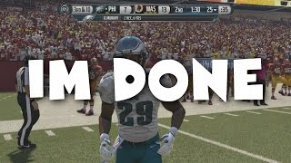 IM DONE - madden 16 glitches and unplayable gameplay.
