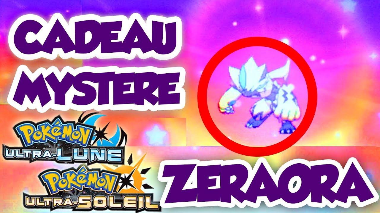 Recevoir Zeraora Par Cadeau Mystere Dans Pokemon Ultra Soleil Et Ultra Lune
