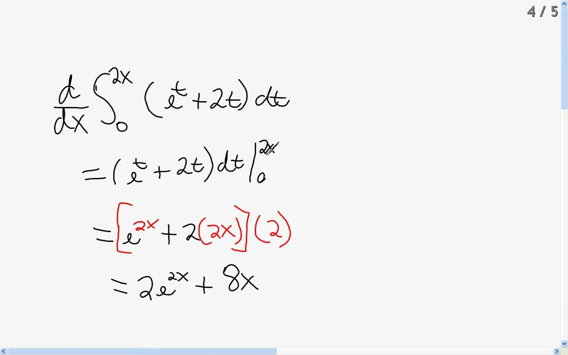 An overview of integral and derivative calculus