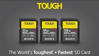 Sony Announces World's Toughest, Fastest SD Cards