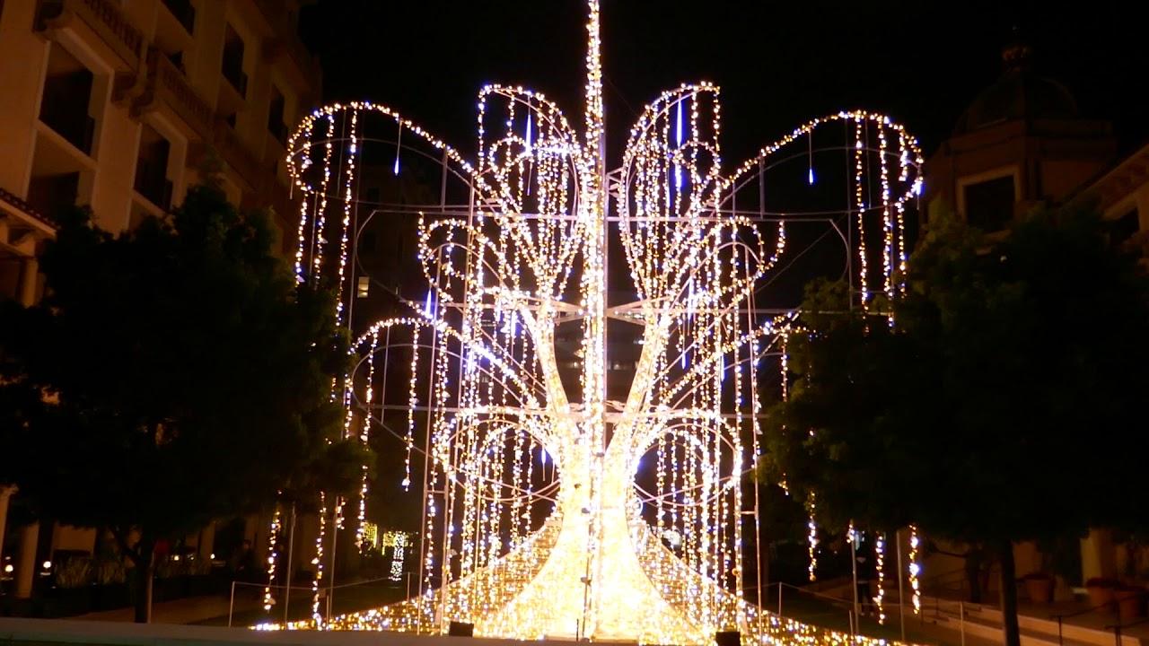 Beverly Hills Christmas Lights 2021 Christmas Lights Trees Beverly Hills California Usa La November 22 2019 Youtube